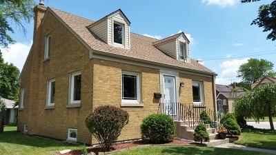 North Riverside Single Family Home For Sale: 2535 Lincoln Avenue