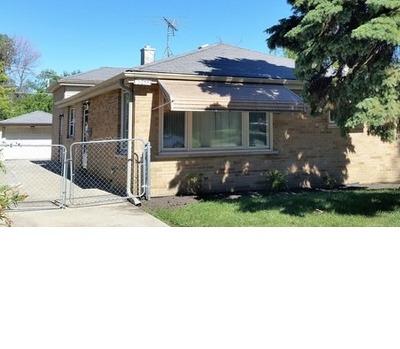 Melrose Park Single Family Home New: 3055 Lee Street