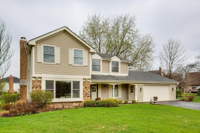 Naperville Single Family Home For Sale: 1529 Heatherton Court