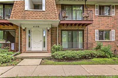 Glenview Condo/Townhouse For Sale: 4106 Cove Lane #1D