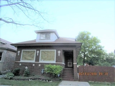 Chicago IL Single Family Home Re-Activated: $266,000