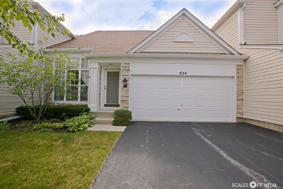 Palatine Condo/Townhouse New: 654 North Charter Hall Drive