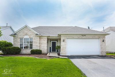 Plainfield Single Family Home New: 24309 Walnut Circle