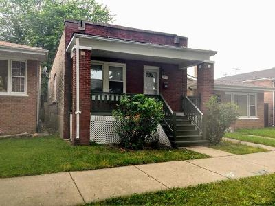 Chicago IL Single Family Home New: $109,000