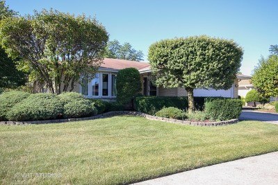 Orland Park Single Family Home New: 8305 Bob O Link Road
