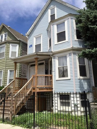 Multi Family Home For Sale: 3604 West Diversey Avenue