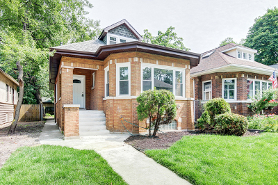 Chicago IL Single Family Home New: $365,000