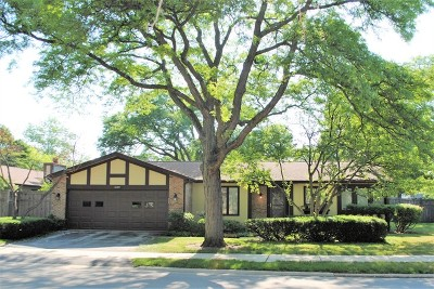 Glenview Single Family Home New: 1403 Estate Lane