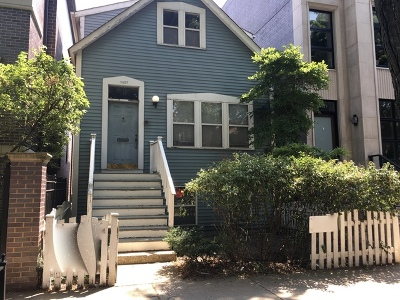 Single Family Home For Sale: 1427 West Wrightwood Avenue