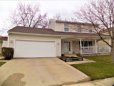 Buffalo Grove Single Family Home New: 1335 Logsdon Lane