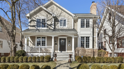Wilmette Single Family Home For Sale: 1014 Greenleaf Avenue