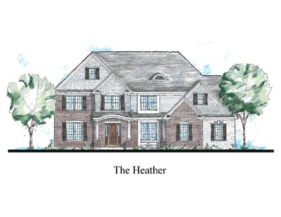 St. Charles Single Family Home For Sale: Lot #13 Autumn Lane