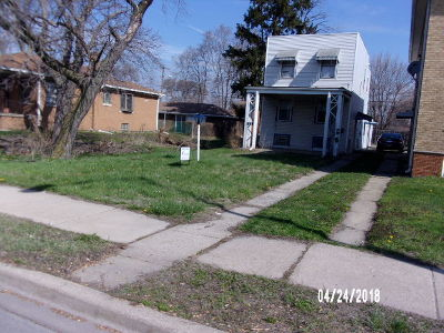 Calumet City Single Family Home New: 668 Sibley Boulevard