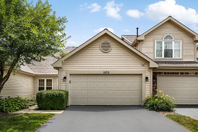 Carol Stream Condo/Townhouse For Sale: 1070 Rockport Drive