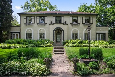 Flossmoor Single Family Home For Sale: 2424 Hawthorne Lane