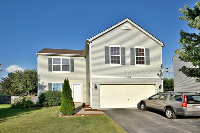 Plainfield Single Family Home New: 2208 Cherry Ridge Drive