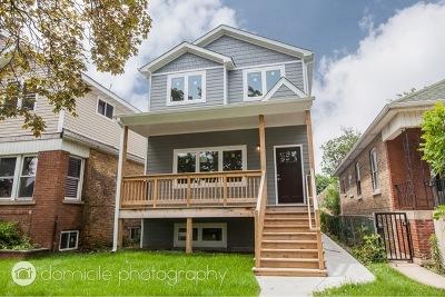 Chicago Single Family Home New: 5144 North Tripp Avenue