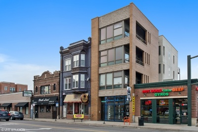 Chicago Condo/Townhouse New: 1606 West North Avenue #PH