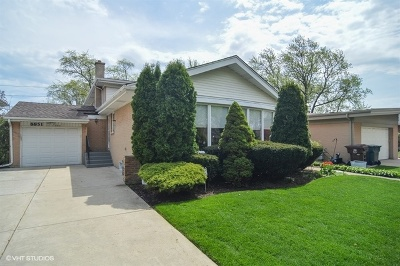 Skokie Single Family Home For Sale: 8851 Knox Avenue