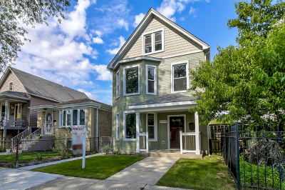 Chicago Single Family Home New: 4644 North Harding Avenue