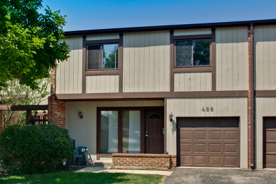 Wheeling Condo/Townhouse New: 486 Poplar Drive