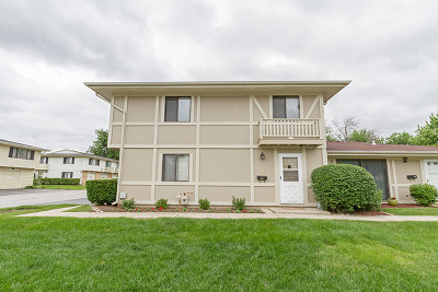 Schaumburg Condo/Townhouse For Sale: 1324 Yarmouth Court #1324