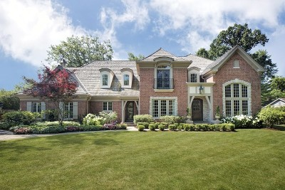 Glenview Single Family Home For Sale: 855 Woodland Drive