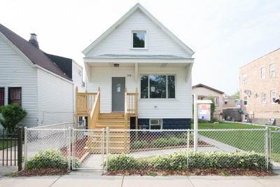 Cicero Single Family Home For Sale: 5418 West 25th Place