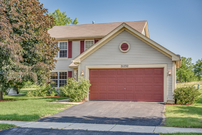 Plainfield Single Family Home New: 21232 West Chastworth Lane
