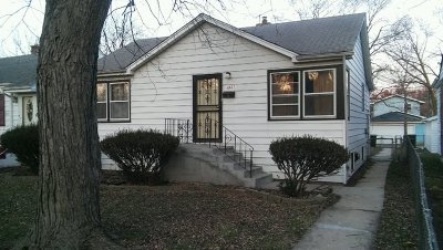 Hazel Crest Single Family Home For Sale: 16821 Shea Avenue