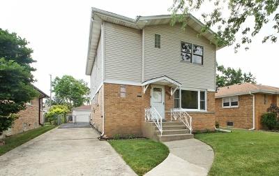 Skokie Single Family Home For Sale: 8339 Saint Louis Avenue