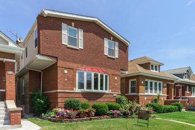 Chicago Single Family Home New: 5714 West Pensacola Avenue