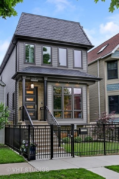 Chicago Single Family Home New: 1941 West George Street