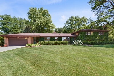 Palatine Single Family Home New: 298 South Circle Drive