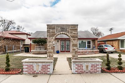 Lansing Single Family Home New: 17018 Burnham Avenue