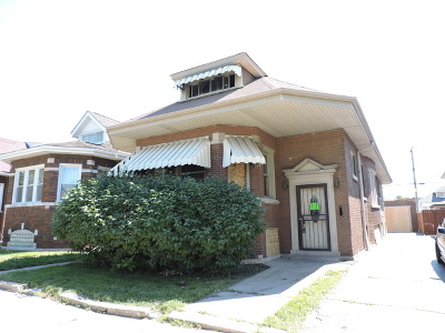 Chicago IL Single Family Home Contingent: $64,900
