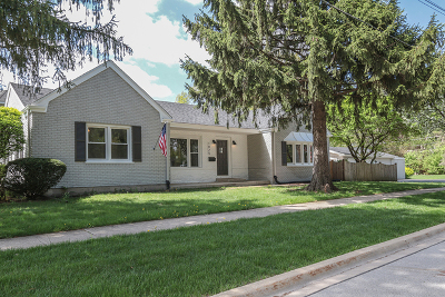 Downers Grove Single Family Home New: 1825 Prairie Avenue