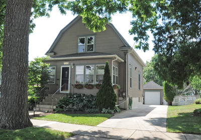 Elgin Single Family Home New: 1000 Hill Avenue