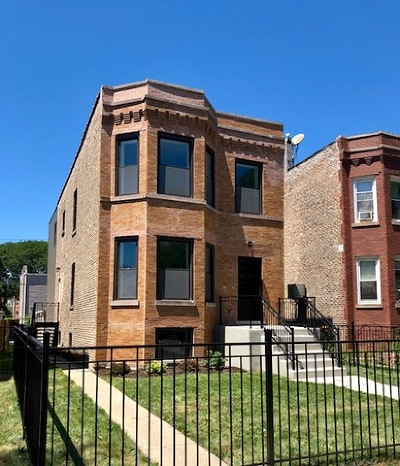 Chicago Single Family Home New: 3910 North Kedzie Avenue
