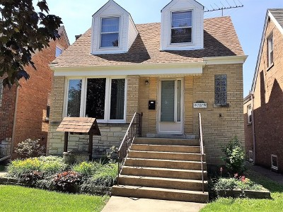 Chicago Single Family Home New: 7007 West Newport Avenue