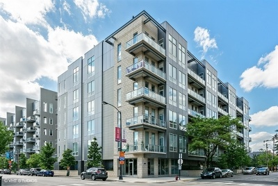 Chicago Condo/Townhouse New: 1100 West Adams Street #4S