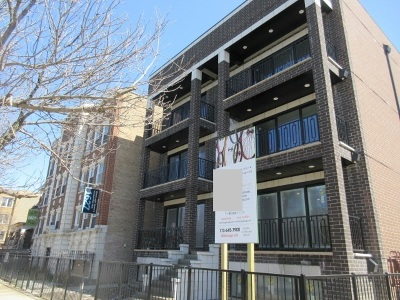 Chicago Condo/Townhouse New: 1621 North Humboldt Boulevard #1S