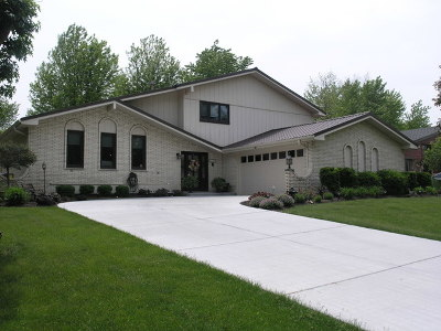 Orland Park Single Family Home New: 12311 West Lady Bar Lane