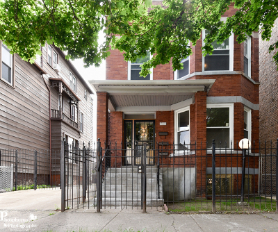 Chicago Multi Family Home New: 7111 South Rhodes Avenue
