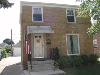 Chicago Single Family Home New: 5553 North Olcott Avenue