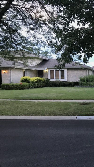 Tinley Park Single Family Home New: 16424 Ironwood Drive
