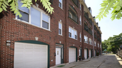 Chicago Condo/Townhouse New: 4438 North Racine Avenue #F