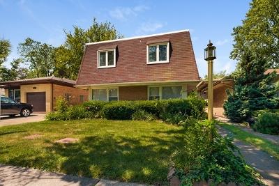 Wilmette Single Family Home New: 609 Lacrosse Avenue