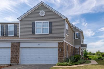 Oswego Condo/Townhouse New: 575 Springbrook Trail North #575