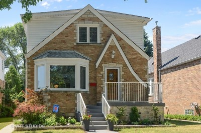 Chicago Single Family Home New: 2143 West Balmoral Avenue
